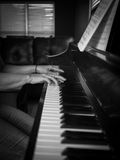 Spela för piano Arkivfoton