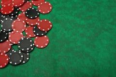 spela green för chipfilt över Royaltyfria Foton