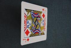 Spela kortet royaltyfri illustrationer