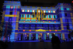 Spela mig på det historiska eget huset Sydney Australia Arkivfoton