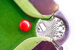 Spela snooker Royaltyfria Bilder