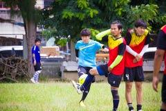 Spela sportar för hälsa Arkivbild