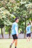 Spela sportar för hälsa Fotografering för Bildbyråer