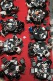 spelar konkurrensskapelsen 2009 singapore Royaltyfri Foto