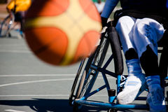 spelar paralympics Royaltyfria Foton