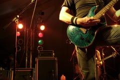spelare för 2 gitarr Royaltyfria Foton