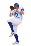 spelare för americansnittfotboll ut Royaltyfri Fotografi