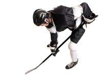 spelare för illustration för designhockeyis dig fotografering för bildbyråer