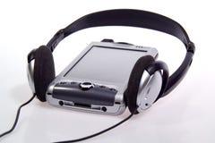 spelare för telefon för pda mp3 för cell integrerad Fotografering för Bildbyråer