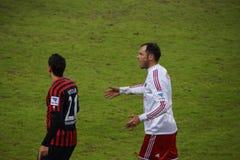Spelare Heiko Westermann av den Hamburg sportklubban HSV royaltyfria bilder