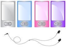 Spelare MP3 Royaltyfri Bild