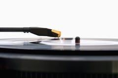 spelare registrerad vinyl Royaltyfria Bilder