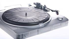 spelare registrerad vinyl Arkivfoto