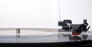 spelare registrerad vinyl Royaltyfria Foton