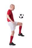spelarefotboll Arkivbild