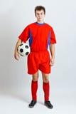 spelarefotboll Royaltyfri Fotografi