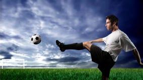 spelarefotboll Arkivfoton