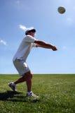 spelarevolleyboll Royaltyfria Foton