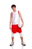 spelarevolleyboll Royaltyfri Bild