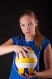 spelarevolleyboll Fotografering för Bildbyråer
