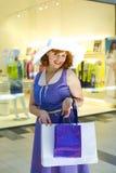 Speld-op het winkelen Stock Foto
