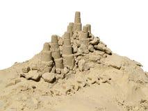 Spelen in de zandbak Stock Foto's