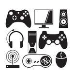 Spelen en Consolevector Stock Foto's