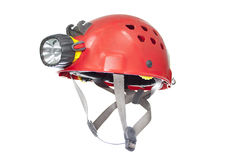 Speleo helmet Stock Photography