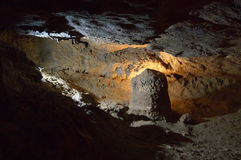 Speleothems in karst cave Stock Images