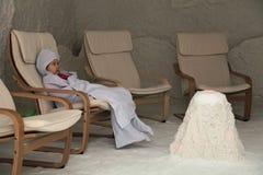 Speleotherapy foto de stock royalty free
