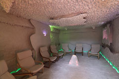 Speleotherapy room Royalty Free Stock Photography