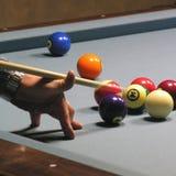 Speler 01 van de pool Stock Afbeeldingen