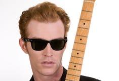 Speler 1 van de gitaar Royalty-vrije Stock Afbeelding