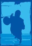 Speler 1 van Trumper stock illustratie