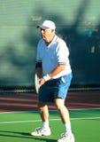 Speler 2 van het tennis Stock Foto