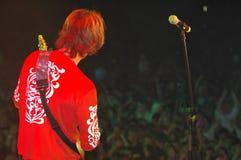 Speler 4 van de gitaar stock foto
