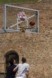 Speler bepaald punt stock foto