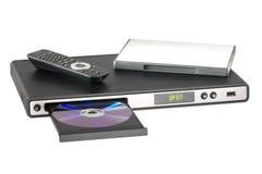 Speler DVD Royalty-vrije Stock Afbeelding