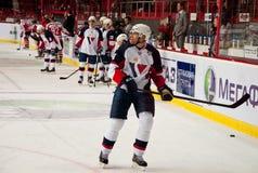 Speler Slovan (Bratislava) Stock Foto