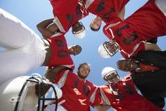 Spelers die een Wirwar vormen stock foto