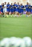 Spelers van Everton stock afbeelding