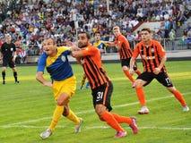 Spelers van FC Shakhtar_3 Royalty-vrije Stock Fotografie