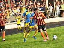 Spelers van FC Shakhtar_4 Royalty-vrije Stock Foto