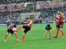 Spelers van FC Shakhtar_7 Royalty-vrije Stock Fotografie