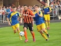 Spelers van FC Shakhtar_10 Royalty-vrije Stock Fotografie
