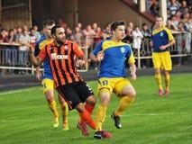 Spelers van FC Shakhtar_11 Royalty-vrije Stock Afbeelding