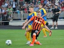 Spelers van FC Shakhtar_13 Royalty-vrije Stock Fotografie