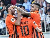 Spelers van FC Shakhtar_14 Stock Foto