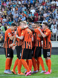 Spelers van FC Shakhtar_15 Royalty-vrije Stock Fotografie