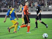Spelers van FC Shakhtar_17 Royalty-vrije Stock Foto's